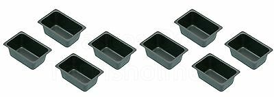 Kitchen Craft 8 Non Stick Mini 'Penny Loaf' Bread Baking Tins - 2 New Packs Of 4