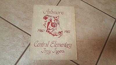 1981 Ardmore, Okla.Central Elementary School Tiny Tigers Yearbook