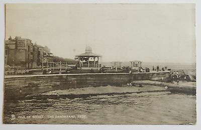 RYDE, The Bandstand, Isle of Wight - 1910's - Vintage postcard