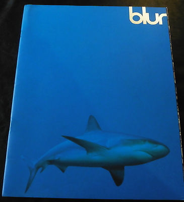 BLUR 1995 TOUR / CONCERT PROGRAMME The Great Escape Tour Damon Albarn Wembley