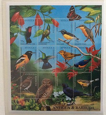 Antigua and Barbuda mid 1990's Unmounted Mint. quantity minisheet. 4 images