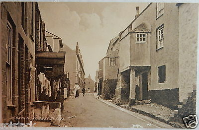 ANTIQUE POSTCARD - BECK ROAD EAST ST IVES - CORNWALL By J Welch & Sons
