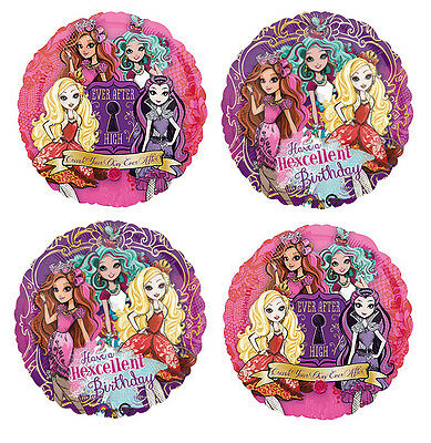 """31/"""" EVER AFTER HIGH SUPERSHAPE GIANT HELIUM FOIL BALLOON 31298"""