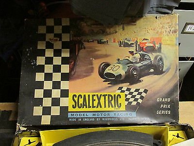 triang scalextric track controllers shadow arrow cars G.P33 box set