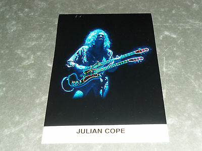 JULIAN COPE - Original Promo / Press / Advertising Photo - THE TEARDROP EXPLODES