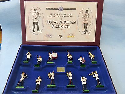 Britains Toy Soldiers Set 5294 Royal Anglian Regiment Band  mint in box 1983