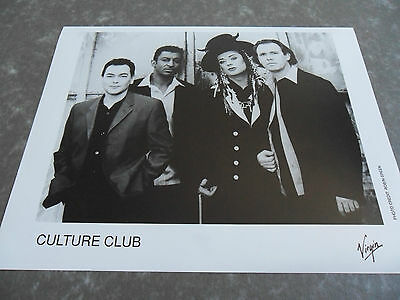 CULTURE CLUB / Boy George Original Promotional / Press / Advertising Photograph