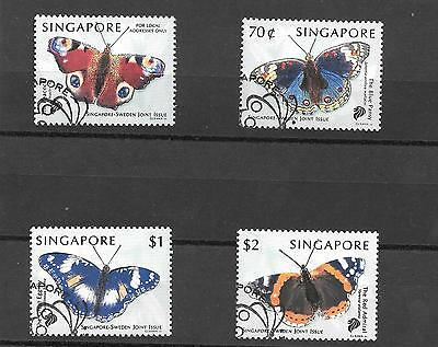 Singapore  1999  Set 4 Joint  Issue With  Sweden