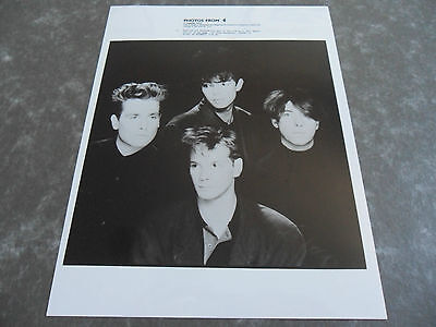 ECHO & THE BUNNYMEN - Original Promotional / Press / Advertising Photograph