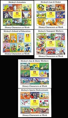 St. VINCENT DISNEY CHARACTERS AT WORK SPECIAL SET