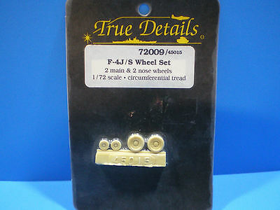 True Details  F4J/S Wheel set 1:72 scale #72009