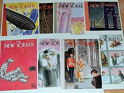 1930's Postcards from The New Yorker new