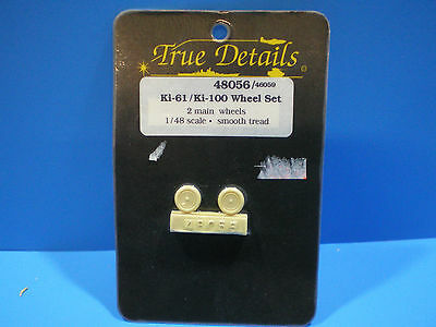 True Details Ki-61/ Ki-100 Wheel set 1:48 scale #48056