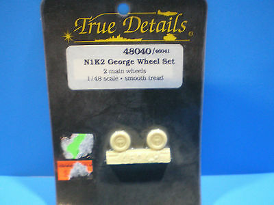 True Details N1K2 George Wheel set 1:48 scale #48040