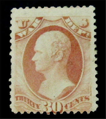 nystamps US Official Stamp # O120 Mint with Gum H $225