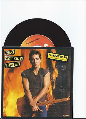 Bruce Springsteen I'm On Fire Single From Holland