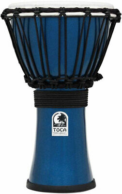 Toca Djembe Drum Percussion Freestyle Color Sound - Blue