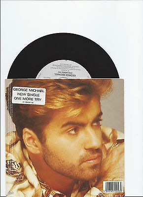 George Michael One More Try Original Single From Holland