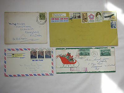 Airmail letters  USA.