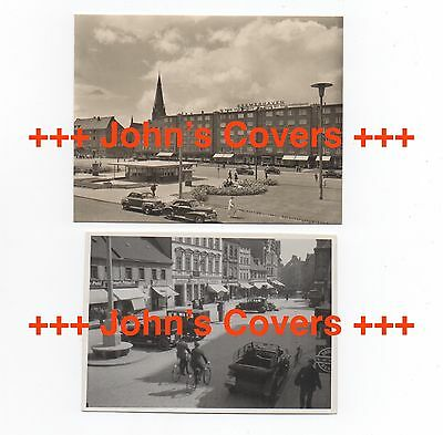 1930's / 1940's GERMANY BREMERHAVEN 2 x Real Photos