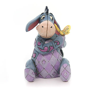 Jim Shore Disney Miniature EEYORE with Butterfly figurine 4056746 - New for 2017