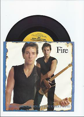 Bruce Springsteen Fire/incident Diff B-Side Live Versions Single From Usa