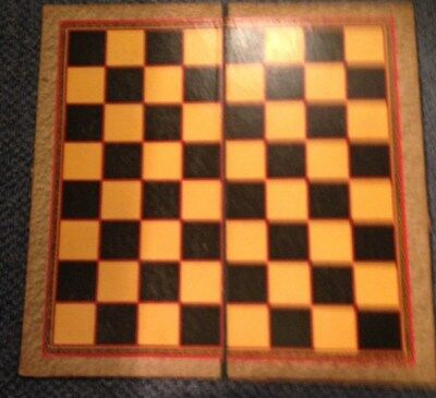 Vintage Draughts Board