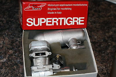 # Super Tigre 75 R/c Two Stroke Glow Engine/aircraft #