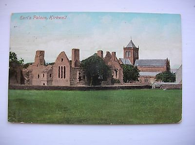 Kirkwall  --  Earl's Palace, Orkney (Valentines - 1909)