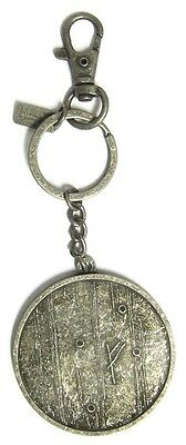 The Hobbit An Unexpected Journey Gandalf Rune Metal Key Ring *new*