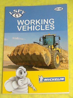 I-Spy Michelin #7, Working Vehicles, 2011 p/b, VGC, fully illustrated in colour