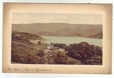 Kyles Of Bute At Tighnabruaich Photo Taken 1902 Card Published 1911 Valentines