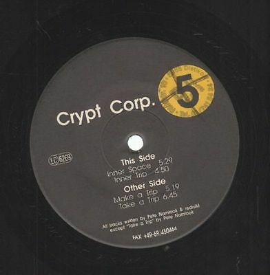 Crypt Corp. Crypt Corp. 5 Vinyl Single 12inch Fax +49-69/450464