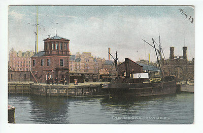 The Docks Dundee Marjorie Fishing Boat Royal Arch (Demolished 1964) 10 Sep 1904