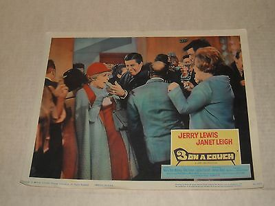 1966 THREE on a COUCH MOVIE LOBBY CARD JERRY LEWIS JANET LEIGH MARY ANN MOBLEY