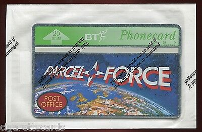 Trade Card/Phonecard, BT, Post Office, Parcelforce, Sealed