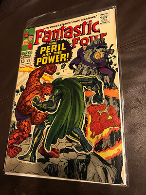 Marvel Comics FANTASTIC FOUR #60 VERY FINE   Silver Age AVENGERS SPIDER-MAN
