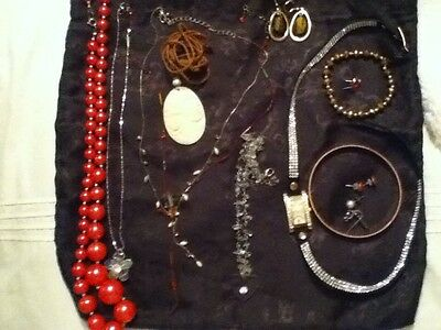 Costume Jewellery Lot, 14 Items, Lovely!