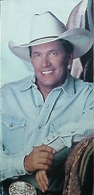 George Strait 15Th Year As Recording Artist, 1995 Cd Book