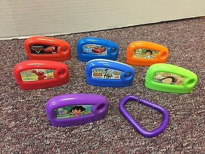 Lot of 7 Fisher Price Smart Cycle Game Cartridges Hot Wheels Diego Dinosaurs+