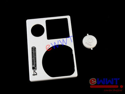 for GoPro Hero4 Silver Edition Camera Front Housing Cover w/ Button Part KQHR320