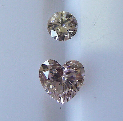 0.24ct!! AUSTRALIAN 100% UNTREATED PINK DIAMOND +ARGYLE LASER INSCRIPTION +CERT
