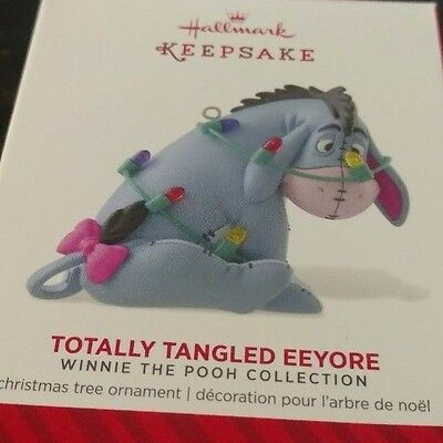 2014 Hallmark Disney Winnie the Pooh Collection Totally Tangled Eeyore Ornament