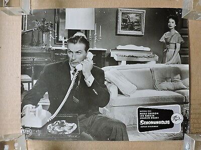 Lex Barker with with Merle Oberon film-noir German LC 1959 The Price of Fear