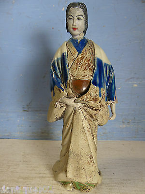 Interesting Old Japanese Or Chinese Lady Figure - Info Welcome - Very Rare -L@@k