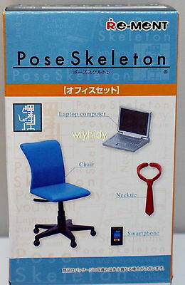 Pose Skeleton Part II Laptop Office Accessory, 1pc - Re-ment  , h#3