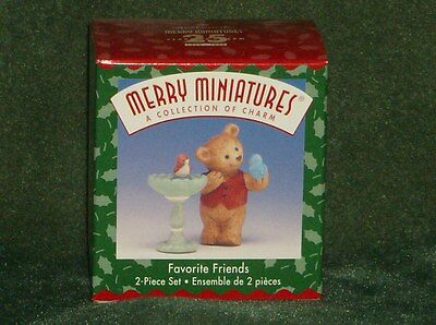 Hallmark Merry Miniature 1999 Favorite Friends - NEW
