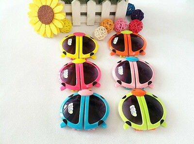 Cute ladybug Baby Boy Girls Kids Sunglasses Goggles Eyewear Children GIFT ZP