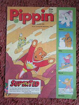 Pippin Comic 9 December 1983. No.898. Nr Mint.  Unread Unsold Newsagents Stock.
