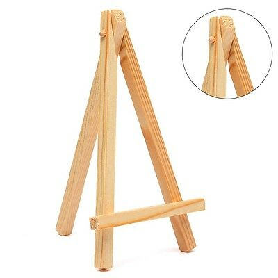 Kids Mini Wooden Easel Artist Art Painting Name Card Stand Display Holder Boards
